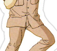 The Karate Kid - Mr. Miagi - Color Sticker