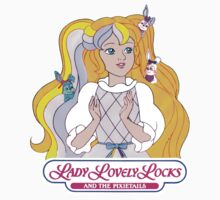 Lady Lovely Locks and the Pixietails - Logo - Color by DGArt