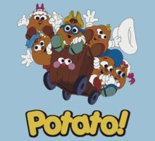 Potato Head Kids - Group - Color by DGArt