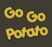 Potato Head Kids - Go Go Potato - Color by DGArt