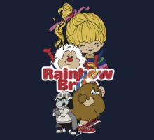 Rainbow Brite - Group Logo #1 - Color  Baby Tee