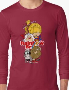 Rainbow Brite - Group Logo #1 - Color  Long Sleeve T-Shirt