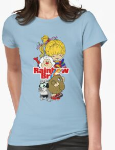 Rainbow Brite - Group Logo #1 - Color  Womens Fitted T-Shirt