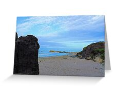 Beach Heaven at Carpinteria Greeting Card