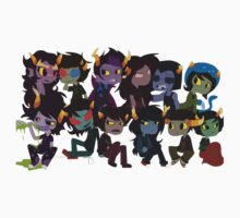 Homestuck Trolls Shirt by Arcix