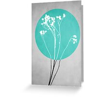 Abstract Flowers 1 Greeting Card