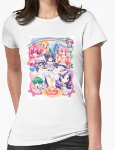 My Little Pony Anthro Womens Fitted T-Shirt