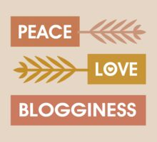 Peace, Love, Blogginess T-Shirt