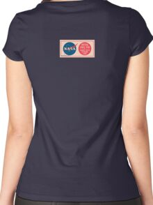 NASA - Critical Space Item Handle with Extreme Care (Back) Women's Fitted Scoop T-Shirt