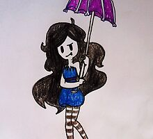 Marceline Umbrella by Pikaeevee