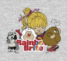 Rainbow Brite - Group Logo #2 - Color One Piece - Long Sleeve