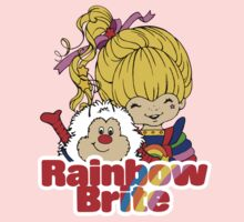 Rainbow Brite - Group - Rainbow & Twink - Large - Color One Piece - Long Sleeve