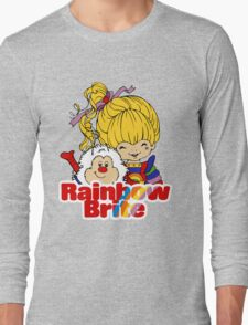 Rainbow Brite - Group - Rainbow & Twink - Large - Color Long Sleeve T-Shirt