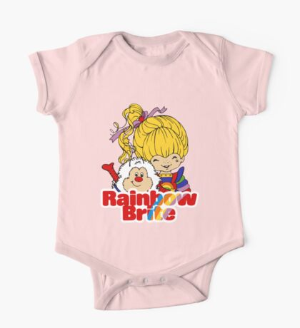 Rainbow Brite - Group - Rainbow & Twink - Large - Color One Piece - Short Sleeve