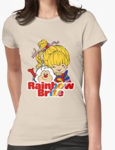 Rainbow Brite - Group - Rainbow & Twink - Large - Color Womens Fitted T-Shirt