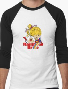 Rainbow Brite - Group - Rainbow & Twink - Small - Color Men's Baseball ¾ T-Shirt