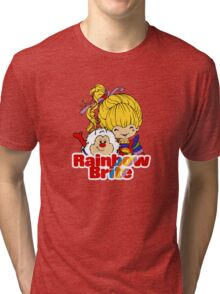 Rainbow Brite - Group - Rainbow & Twink - Small - Color Tri-blend T-Shirt