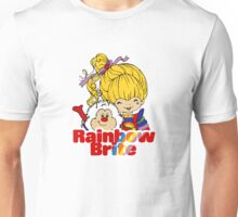 Rainbow Brite - Group - Rainbow & Twink - Small - Color Unisex T-Shirt