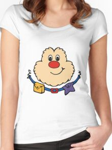 Rainbow Brite - Sprite - Twink - Color Women's Fitted Scoop T-Shirt