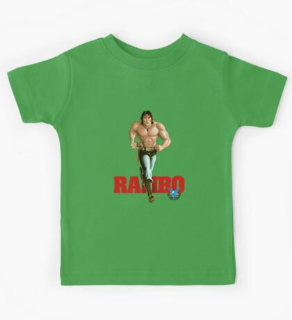 Rambo - Logo #1 - Color Kids Tee