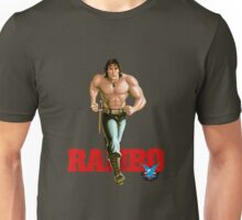 Rambo - Logo #1 - Color Unisex T-Shirt