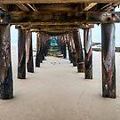 Low Tide Lonsdale Pier by Graeme Buckland