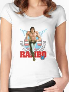 Rambo - Logo #3 - Color Women's Fitted Scoop T-Shirt