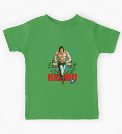 Rambo - Logo #3 - Color Kids Tee