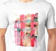 Asymmetrical Mandala 2 - Small Abstract Landscape,  watercolor, ink & pencil on paper Unisex T-Shirt