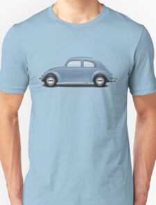 1951 Volkswagen Beetle Sedan - Azure Blue Unisex T-Shirt