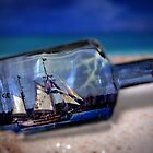 Ship In a Bottle by BluAlien