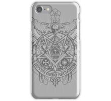 Satanic Masonic iPhone Case/Skin