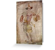 Clown in the Mirror Greeting Card