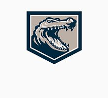 Alligator Head Snout Retro Unisex T-Shirt