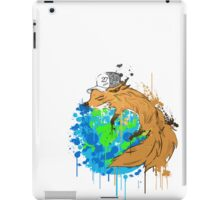 asleep on earth iPad Case/Skin