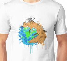 asleep on earth Unisex T-Shirt