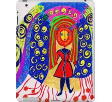 HAPPY GIRL COMES TO TOWN iPad Case/Skin