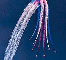 Red Arrows Starburst by SWEEPER