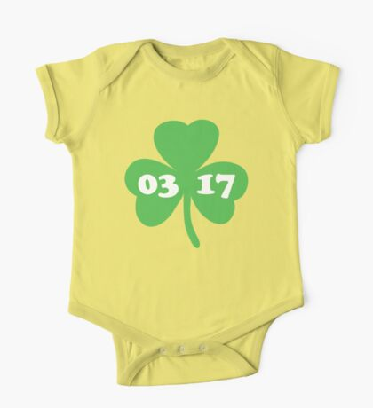 St. Patrick's day  One Piece - Short Sleeve