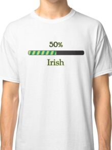 St. Patrick's day: 50 % irish Classic T-Shirt