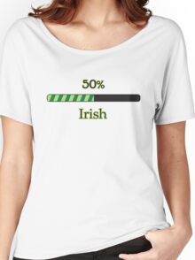St. Patrick's day: 50 % irish Women's Relaxed Fit T-Shirt