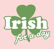 St. Patrick's day: Irish for a day Kids Clothes