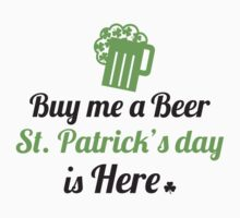 Buy me a beer, St. Patrick's day is here by nektarinchen