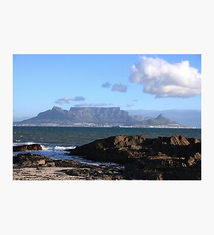 Table Mountain South Africa Photographic Print