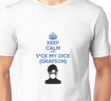 Suck my GRAYSON Unisex T-Shirt