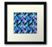 Abstract watercolor pattern Framed Print