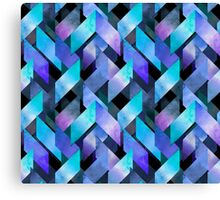 Abstract watercolor pattern Canvas Print