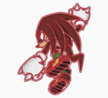 Neon Knuckles The Echidna One Piece - Short Sleeve