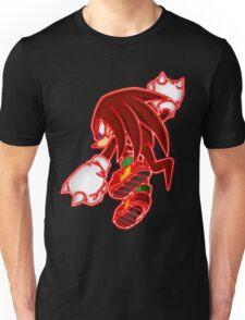 Neon Knuckles The Echidna Unisex T-Shirt
