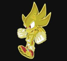 Neon Super Sonic by LegendDestroye